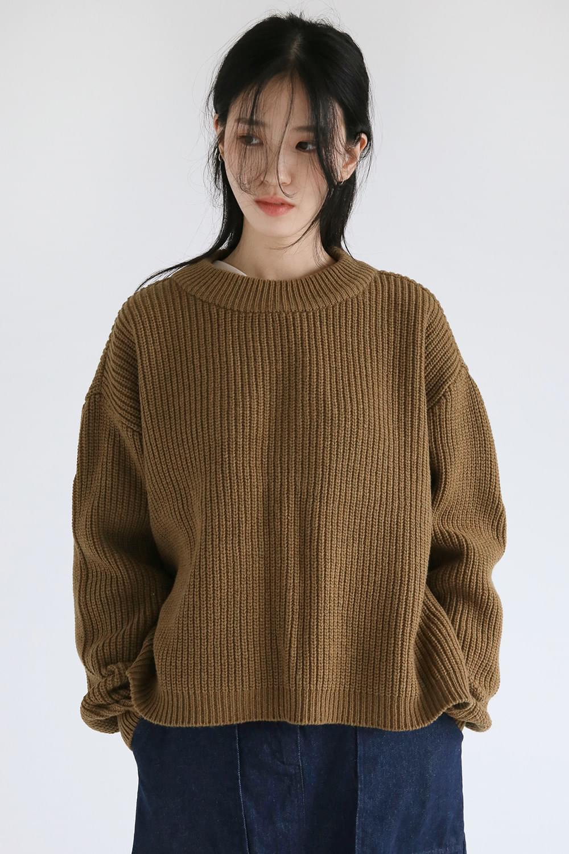 round simple golgi knit