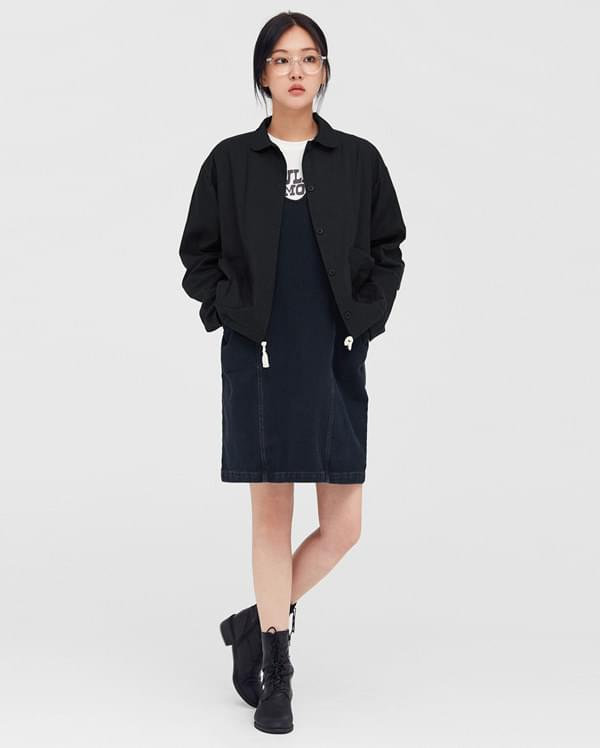 cute string cotton jacket
