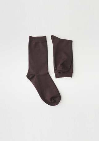 color tension ankle socks (3colors)
