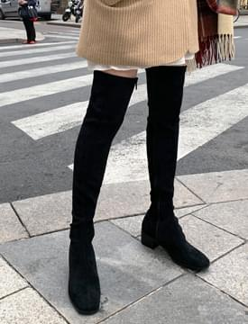 Fancy over-knee boots_C (size : 225,230,235,240,245,250)