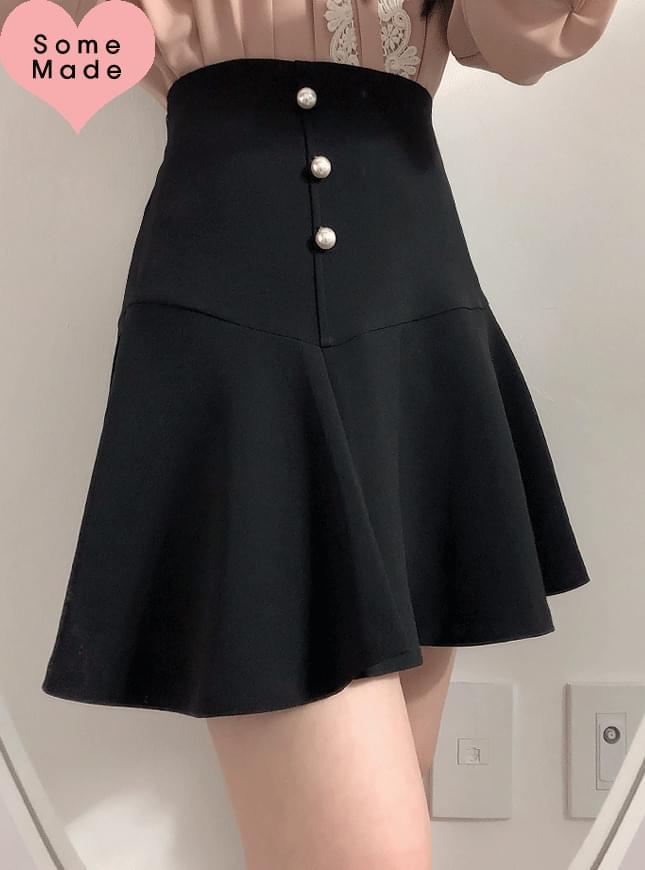 Self-made ♥ Janet pearl pearl flared skirt