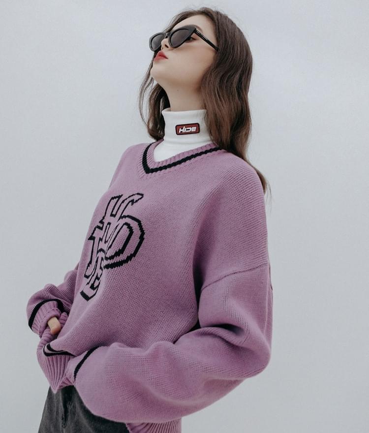 HIDE Future V-neck Knit