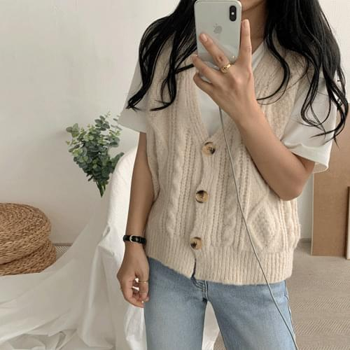 Old Dune Knitted Vest