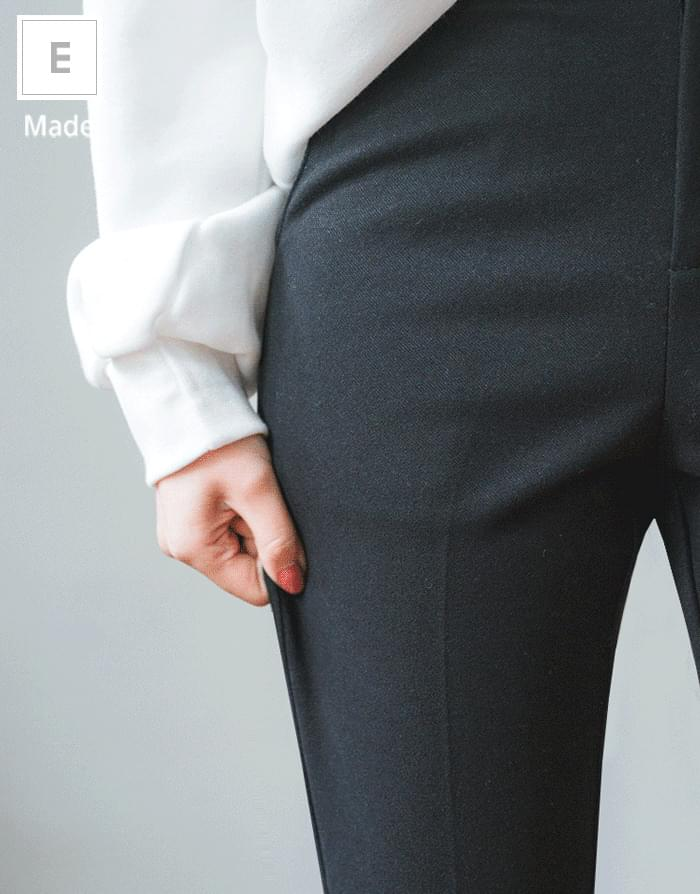 World-friendly slacks # 500,000 pieces exceeded # return rate 0%