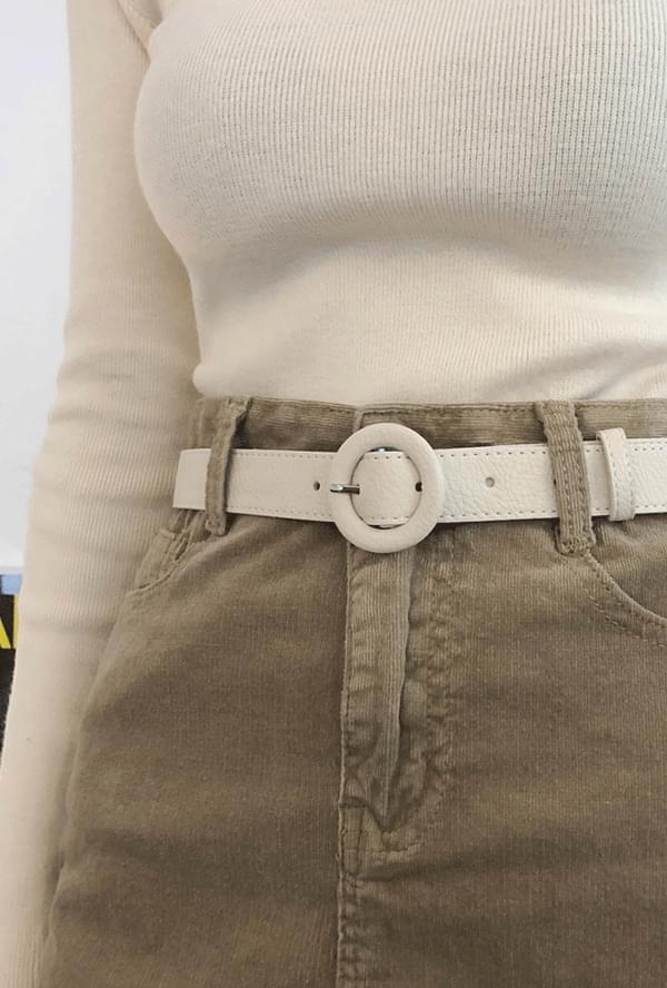 Henon round belt
