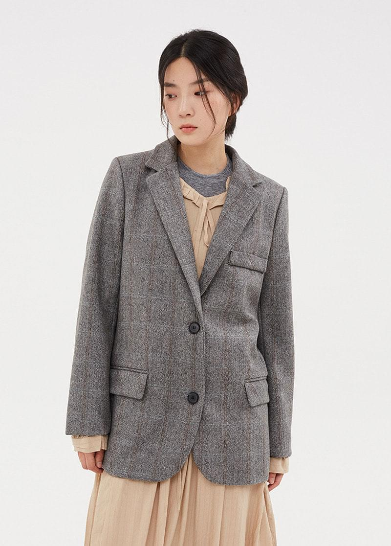 Herringbone Check Jacket