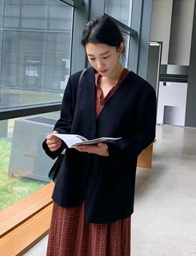 Dear handmade loose jacket_C (울 87%) (size : free)