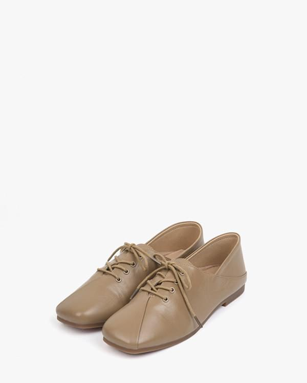real leather shape loafer