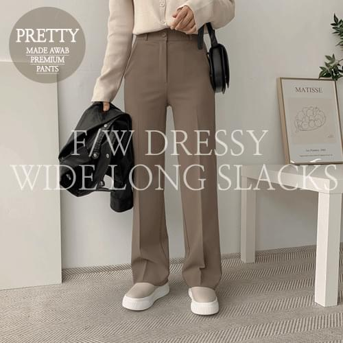 Dressy Wide Slacks