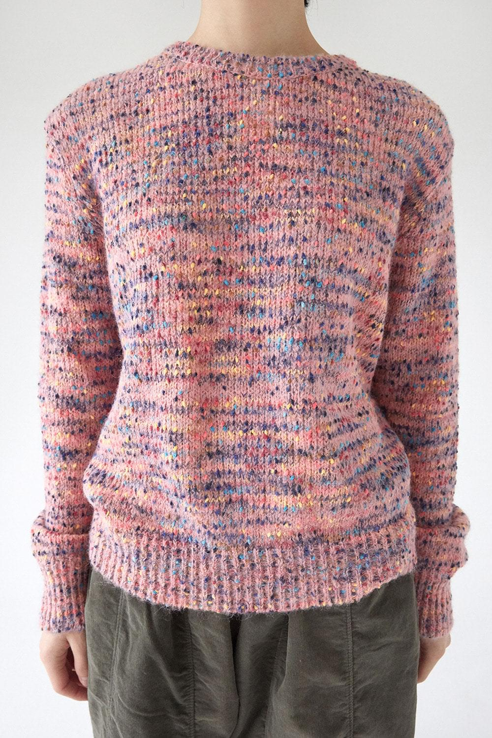 funky color knit top
