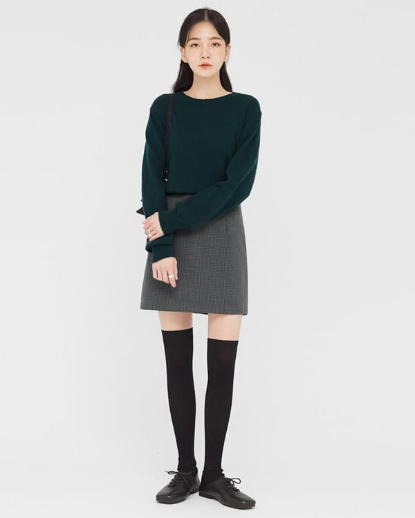 great lambswool round knit