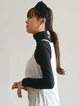 Wool ribbon headband