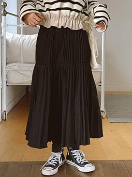 Pleats Day Long Skirt