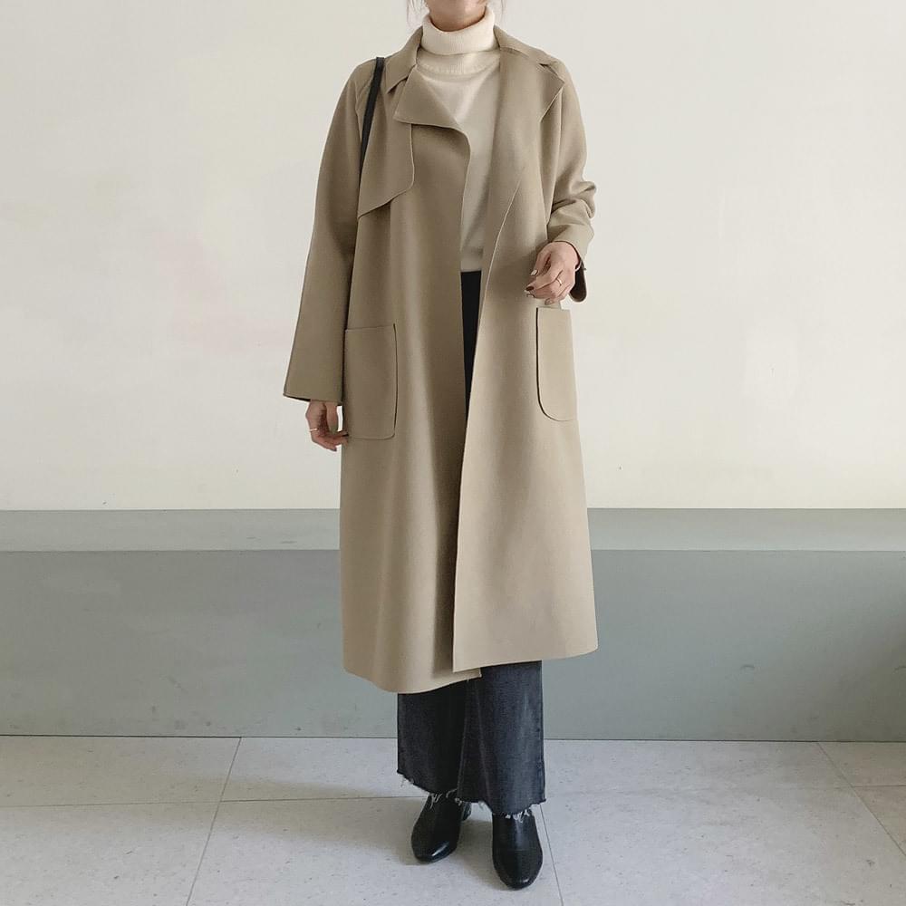 Likd wool long coat