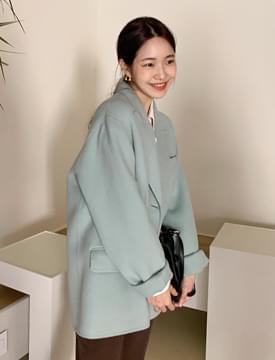 Crema handmade jacket_J (울 90%) (size : free)
