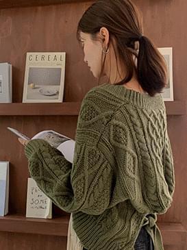 Twist Rare Cropped Knit