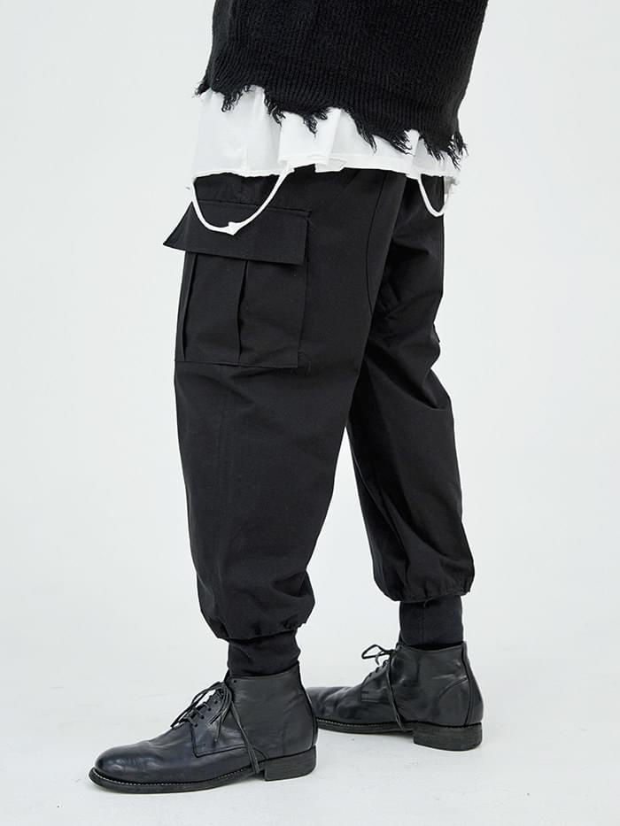 fatigue cargo pants - men