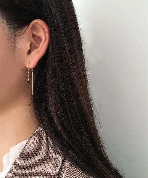 (silver925) verdi earring