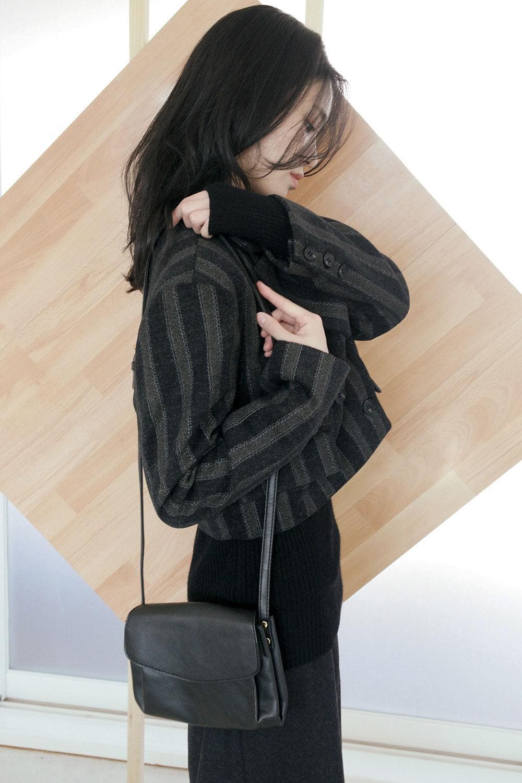 layer easy shoulder bag (2colors)