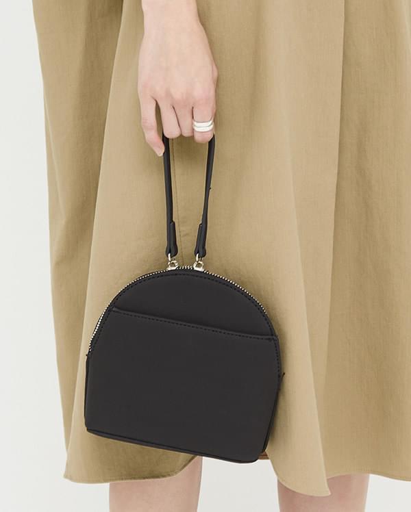 half moon hand strap bag