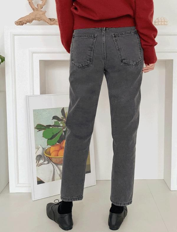 vintage grey denim pants