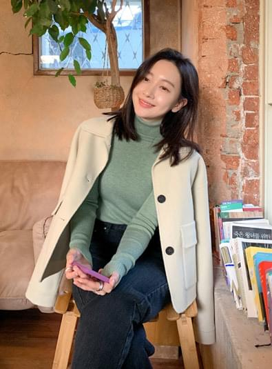 포프너 핸드메이드 coat (*4color)