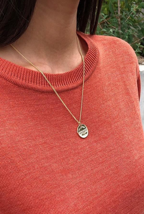 Pockin Long Necklace