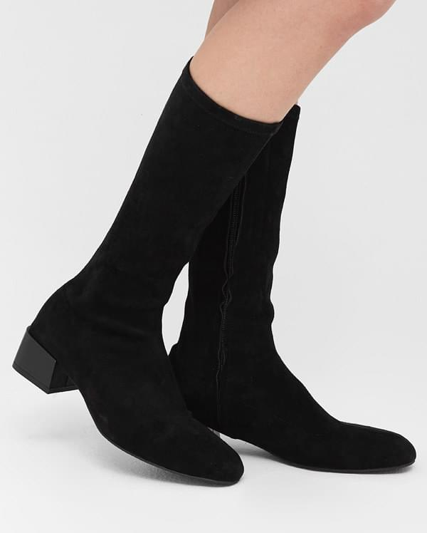 female half knee high boots (225-250)
