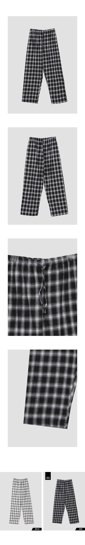 Natural Check Pants