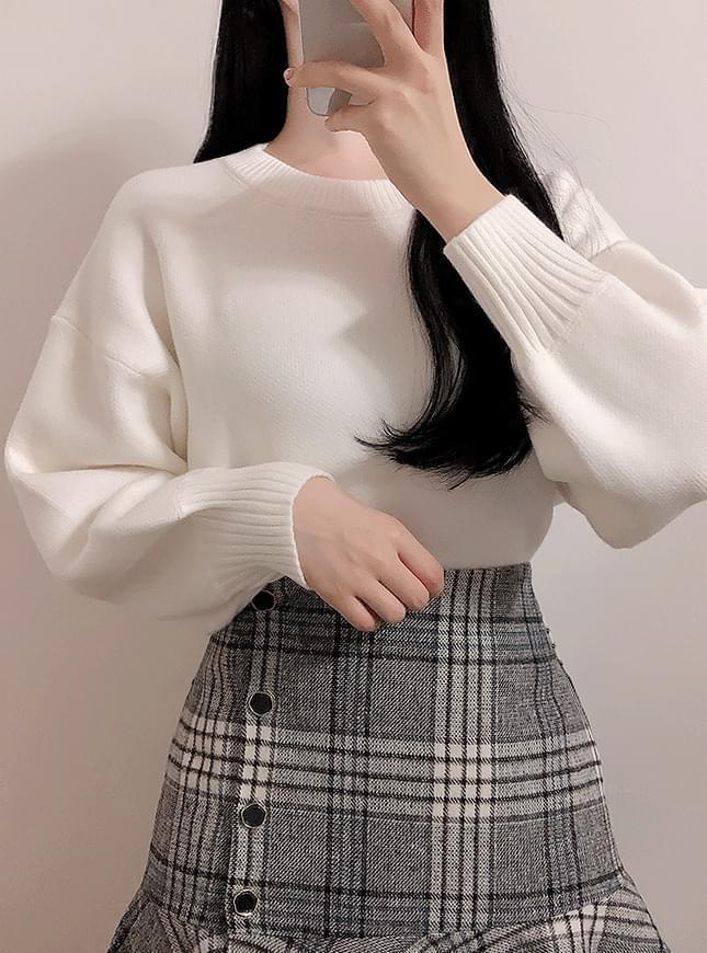 비비드 벌룬 니트(아이,핑크,옐로우,블루)
