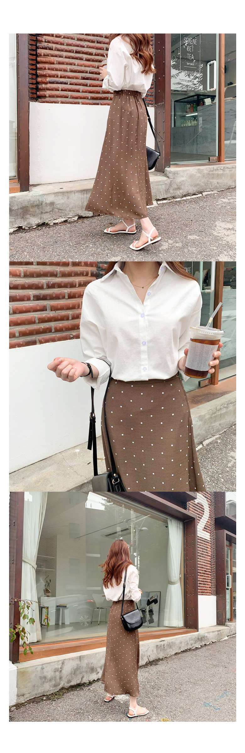 Embroidered linen shirt