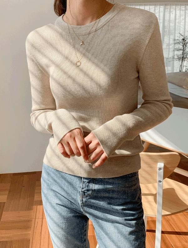 soft wool basic knit