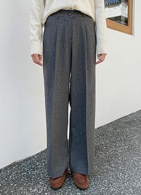 Wool slacks