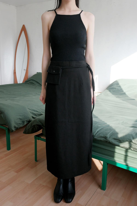 mini pocket h-line skirts