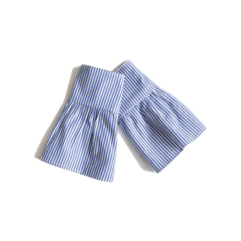 Princess Layered Cotton Cufflinks