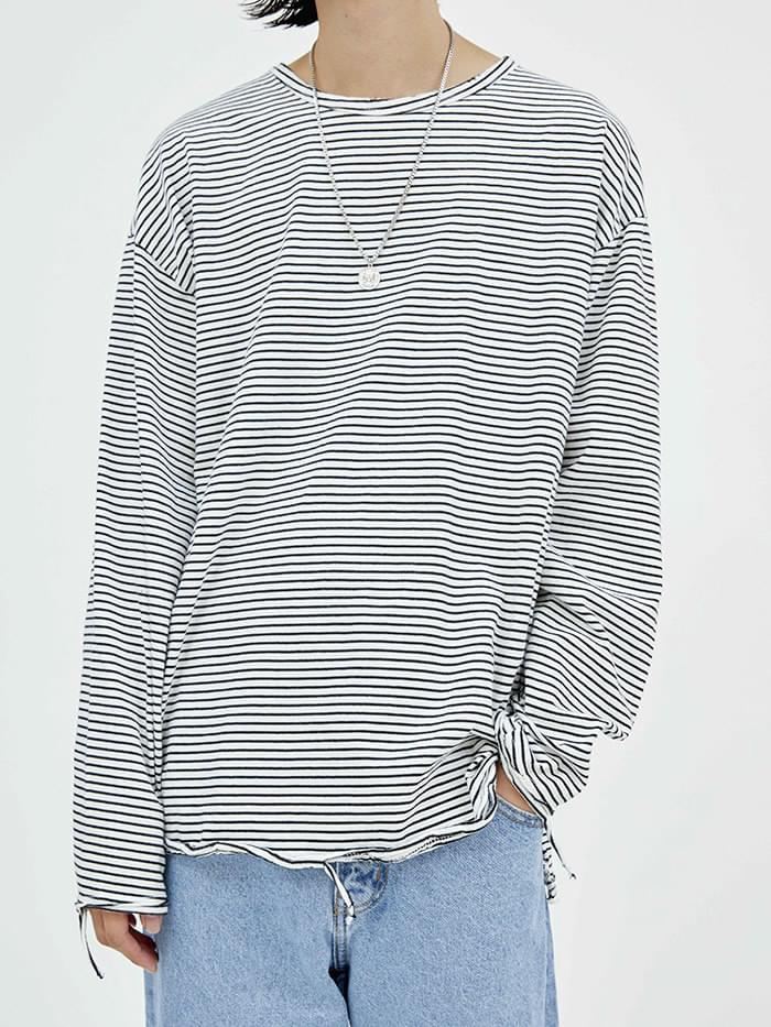 damage stripe T - men