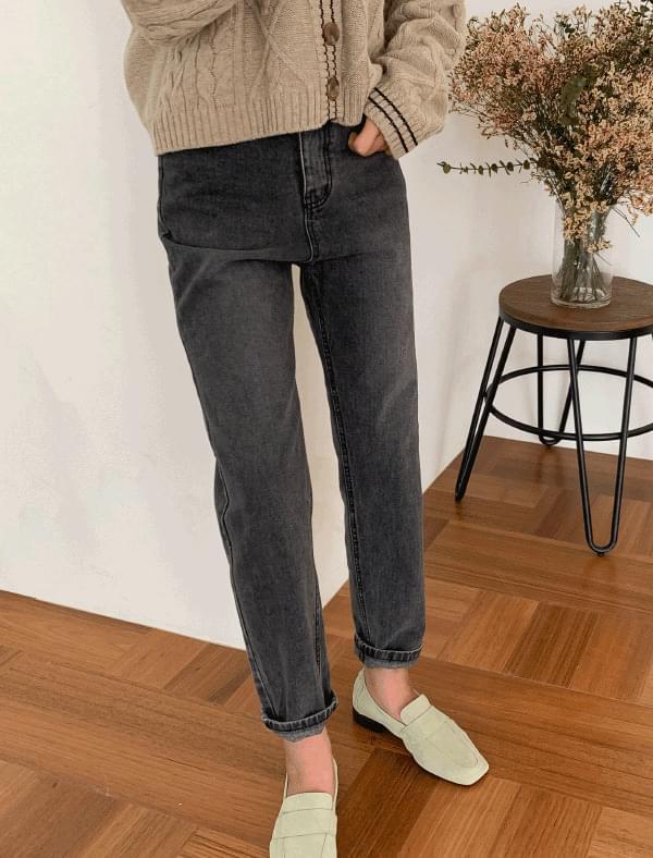 vintage mood slim straight pants