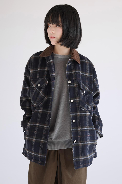 amekaji gradation check jacket
