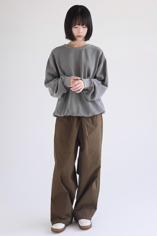 dry cotton pintuck pants