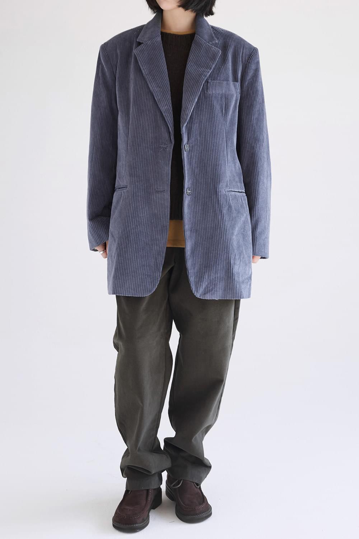 maxi boyfit corduroy jacket