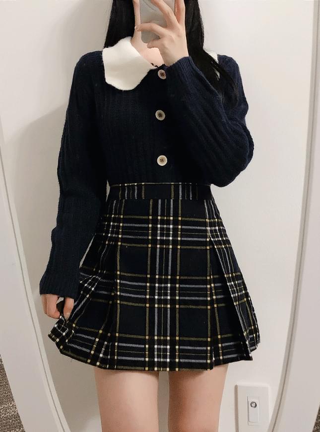 Lola Check Miniskirt