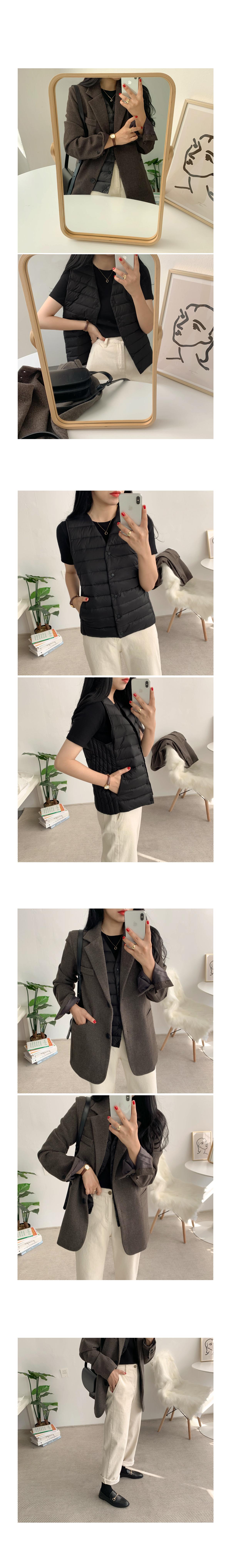 Duck Down Light Lightweight Padding Vest