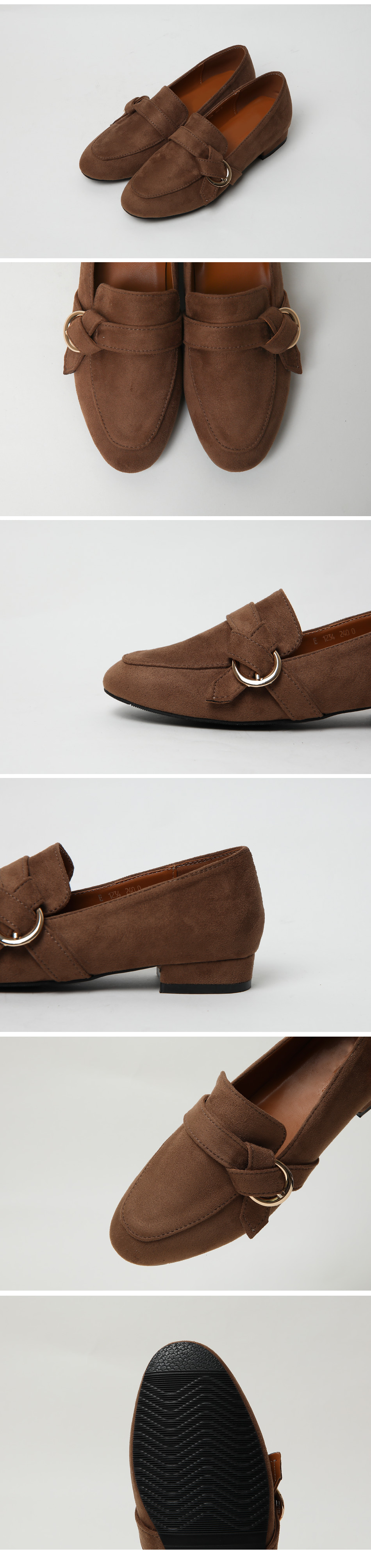Le Calf Tall Loafers 3cm