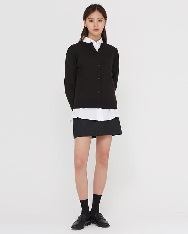 mone basic mini skirt