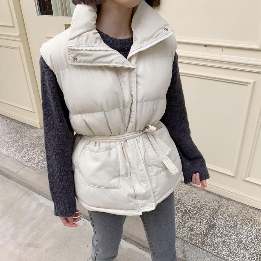 Belt padded vest