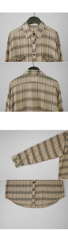 snug semi crop shirt