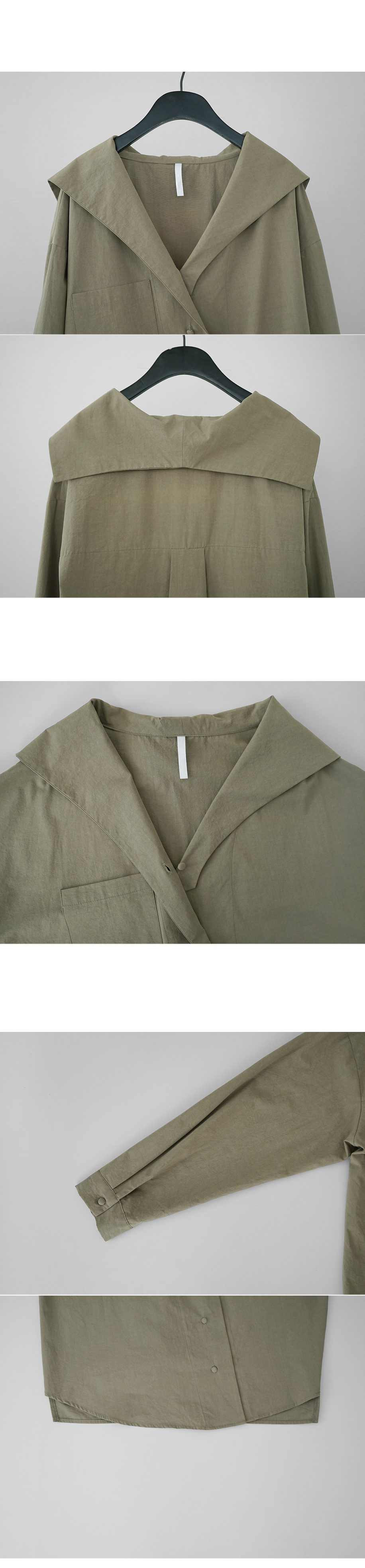 big pocket point sailor shirt