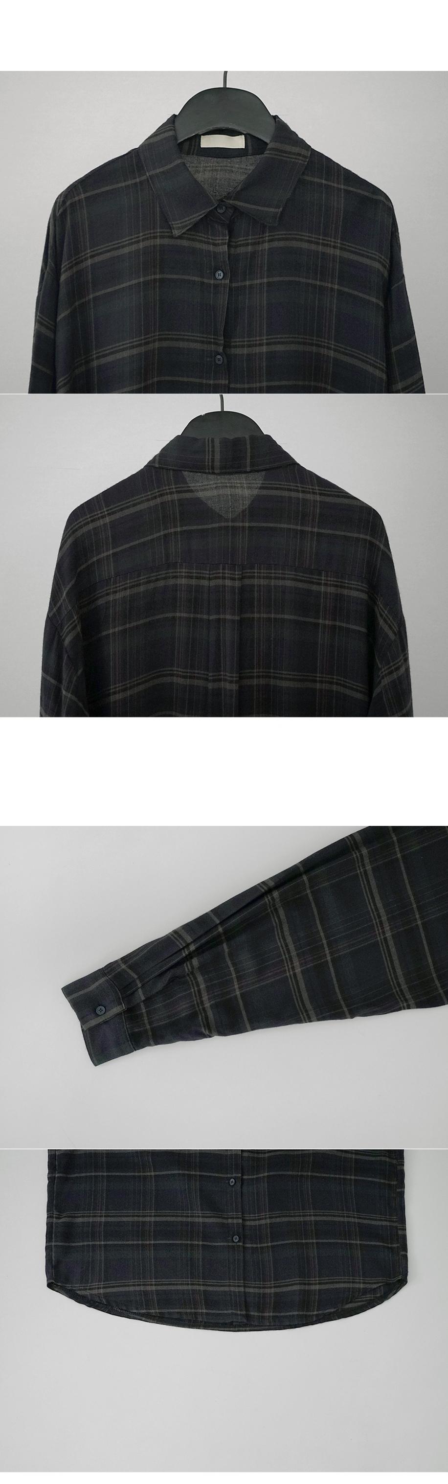 rayon color plaid shirt