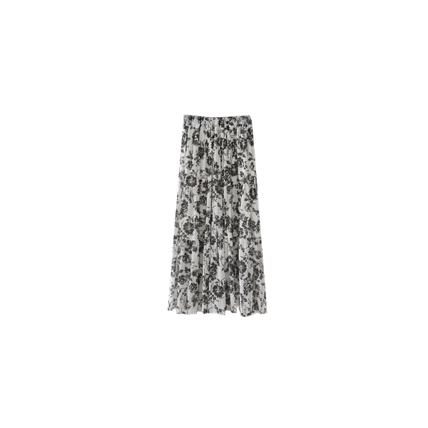 flower natural texture skirt
