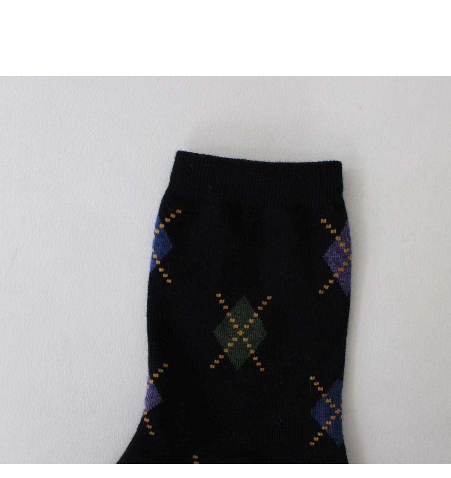 New argyle-socks